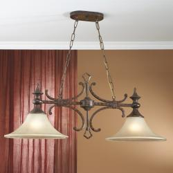 Selena Pendant Lamp Lys 2L metal Óxido