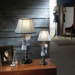 Vogue Table Lamp Small E14 25W Denim