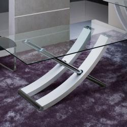 Ulises table de salle à manger blanc 180cm