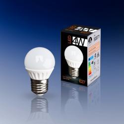 Bombilla LED Globo 4000K 4W E27
