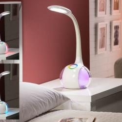 Lampe de table Color LED 5W blanc