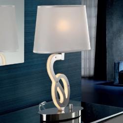 Alma lámpara of Table Lamp Chrome 1 x 4W LED