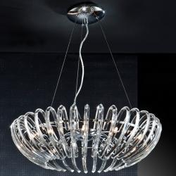 Ariadna Lámpara Colgante 12xG9 LED 4W Cromo