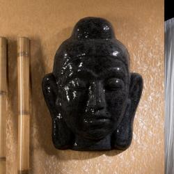 Buda Máscara Verre Noir