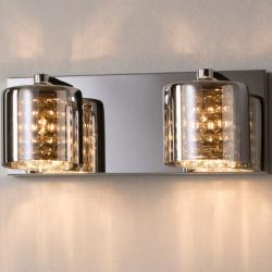 Denise Wall Lamp 2xG9 LED 6W Mirrored glass