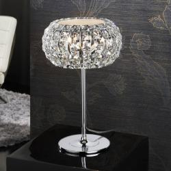 Diamond Lampe de table Petite 3 G9 LED 4W Chrome/Copens Verre