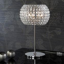 Diamond Table Lamp Large 52x33cm 3xG9 LED 4W - Chrome