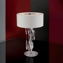 Domo Table Lamp 3xE14 LED 7W bright chrome