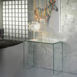 Glass table Transparent