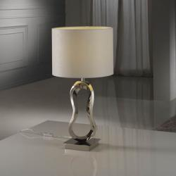 Table Lamp 1L Hadas N­quel
