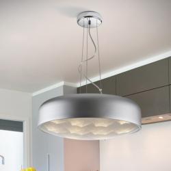 Hidra Pendelleuchte 12x36W LED Silber