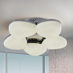 Ikal ceiling lamp LED 36W - Chrome