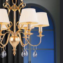 Lámpara Irina 6L Oro