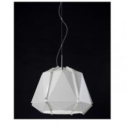 Kira Lámpara Colgante E27 3x20W Blanco lacado