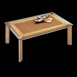 Loto mesa de centro rectangular blanco