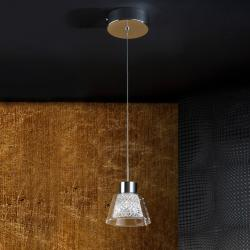 Lucia Lámpara Colgante 5W LED Cromo