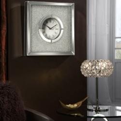 Niza Reloj of wall 40,5x40,5cm - Mirrors biselados and Glass