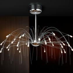Palmera Suspension 30xG4 LED 3WChrome