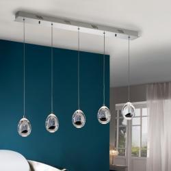 Rocio Lamp Pendant Lamp 5xLED 25w - Chrome