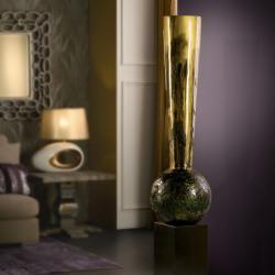 Shana Búcaro 184x40cm - Gold, Copper and Bronze