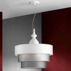 Sophia Lámpara Colgante Completa 3L blanco 3 E27 LED 10W
