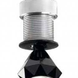 Diamond Recessed 1W 3000K 350mA Black