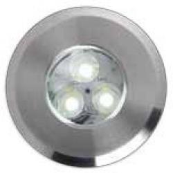 Spider Incasso acciaio 3x1W LED 4000k IP67