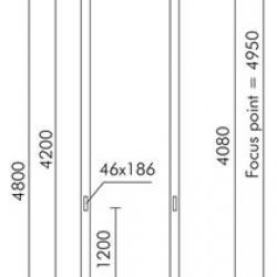Minislot Disk (accesorio) Poste cilndrico ø121mm para empotrar