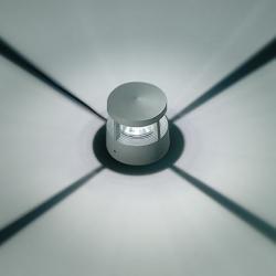 Microreef Beacon 4 Accent LED 6000k 10w 4 beams light Grey Aluminium