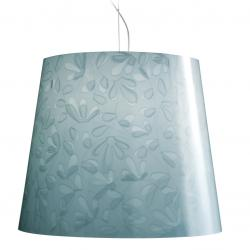 Marie Fleur suspension 1xE27 75w Light Blue