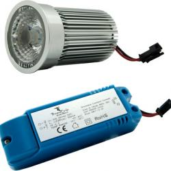 Lámpara LED alta lumininacidad 4 Leds of 3 W
