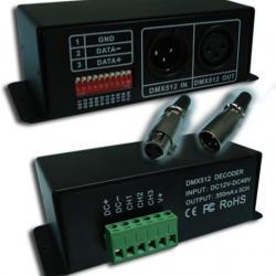 Decodificador de señal dimable X a RGB