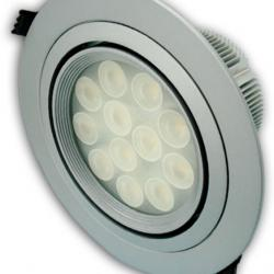 Aro Empotrable LEDS 12x1W (Downlight LED)
