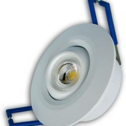 Aro Empotrable LEDS 1X1W (Downlight LED)