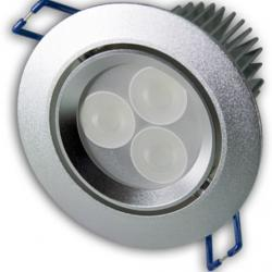 Aro Empotrable LEDS 3x3W (Downlight LED)