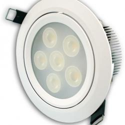 Aro Empotrable LEDS 6x1W (Downlight LED)