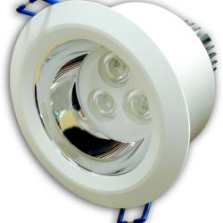 Aro Empotrable LEDS reflec 3x3W (Downlight LED)