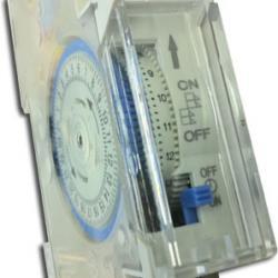 Interruptor programador horario Carril DIN (1 mod)