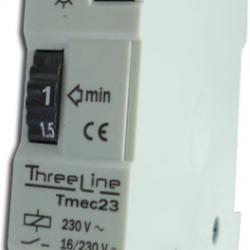 Minutero Temporizador de escalera Carril DIN (1 mod)