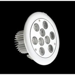 SERIE TG LED Downlight, Cuerpo Aluminio, óptica Transparente 2 PIN 9x 9W
