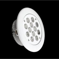 SERIE MG LED Downlight, Cuerpo Aluminio, óptica Transparente 2 PIN 12x 12W