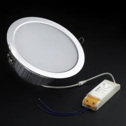 SERIE TG LED Downlight, Cuerpo Aluminio, óptica opal 2 PIN 20x 20W