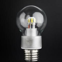 SERIE MG LED Bombilla óptica policarbonato Transparente E27 36x 4W