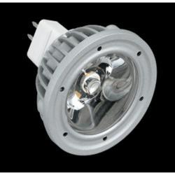 SERIE MG LED Lámpara tipo dicroica, Cuerpo Aluminio, óptica Transparente GU5.3 1x3W