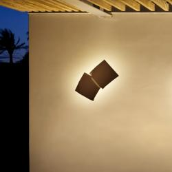 Origami Wall Lamp Doble - Lacquered Oxido