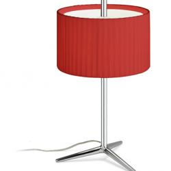 Plis Lampe de table Grand abat-jour Roja