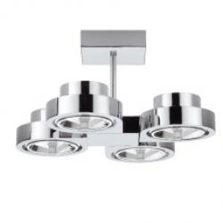 Corner grand plafond quadruple 4xQR-111 60W