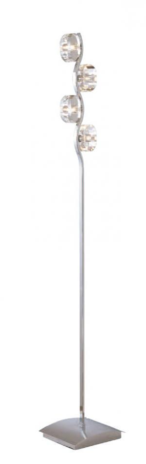 Imagen 1 de Alfa lámpara de Pie Cuero 4L