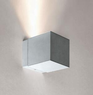 Imagen 1 de Dau Spot Aplique 1 luz GU10 Aluminio Anodizado blanco