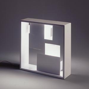 Imagen 1 de Fato Lampada da tavolo 2xE14 56W bianco